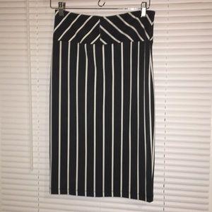 🎈FINAL SALE🎈Vertical Striped Business Skirt
